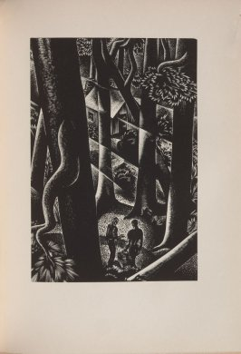 Untitled, illustration 51, in the book Wild Pilgrimage by Lynd Kendall Ward (New York: Harrison Smith & Robert Haas, 1932)