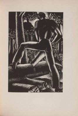 Untitled, illustration 52, in the book Wild Pilgrimage by Lynd Kendall Ward (New York: Harrison Smith & Robert Haas, 1932)