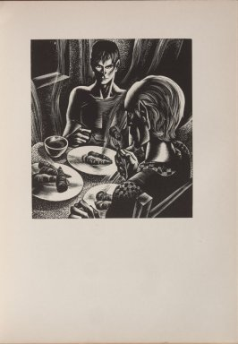 Untitled, illustration 53, in the book Wild Pilgrimage by Lynd Kendall Ward (New York: Harrison Smith & Robert Haas, 1932)