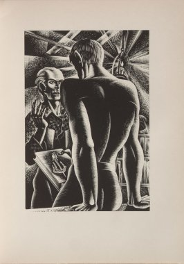 Untitled, illustration 54, in the book Wild Pilgrimage by Lynd Kendall Ward (New York: Harrison Smith & Robert Haas, 1932)