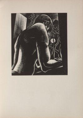 Untitled, illustration 55, in the book Wild Pilgrimage by Lynd Kendall Ward (New York: Harrison Smith & Robert Haas, 1932)