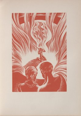 Untitled, illustration 57, in the book Wild Pilgrimage by Lynd Kendall Ward (New York: Harrison Smith & Robert Haas, 1932)