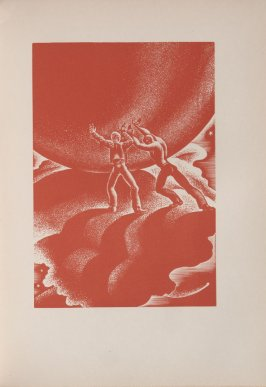 Untitled, illustration 61, in the book Wild Pilgrimage by Lynd Kendall Ward (New York: Harrison Smith & Robert Haas, 1932)