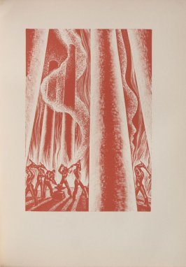Untitled, illustration 69, in the book Wild Pilgrimage by Lynd Kendall Ward (New York: Harrison Smith & Robert Haas, 1932)