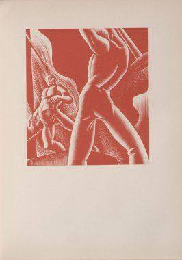 Untitled, illustration 72, in the book Wild Pilgrimage by Lynd Kendall Ward (New York: Harrison Smith & Robert Haas, 1932)