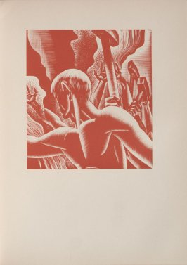 Untitled, illustration 73, in the book Wild Pilgrimage by Lynd Kendall Ward (New York: Harrison Smith & Robert Haas, 1932)