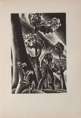 Untitled, illustration 78, in the book Wild Pilgrimage by Lynd Kendall Ward (New York: Harrison Smith & Robert Haas, 1932)