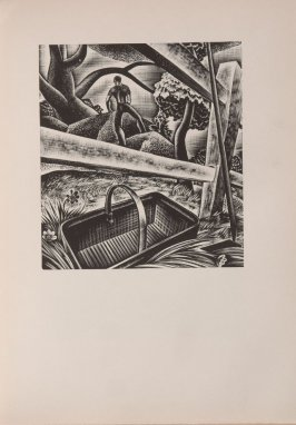 Untitled, illustration 79, in the book Wild Pilgrimage by Lynd Kendall Ward (New York: Harrison Smith & Robert Haas, 1932)