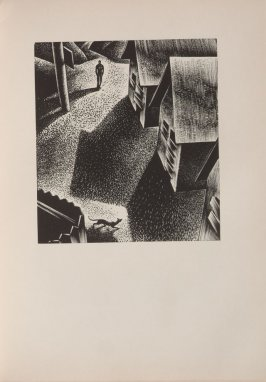 Untitled, illustration 83, in the book Wild Pilgrimage by Lynd Kendall Ward (New York: Harrison Smith & Robert Haas, 1932)