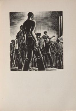 Untitled, illustration 86, in the book Wild Pilgrimage by Lynd Kendall Ward (New York: Harrison Smith & Robert Haas, 1932)