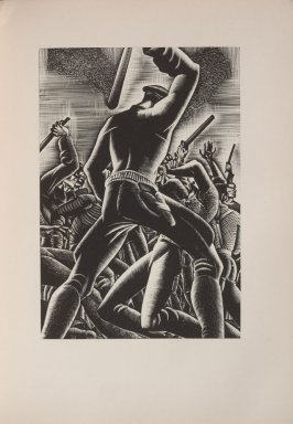 Untitled, illustration 87, in the book Wild Pilgrimage by Lynd Kendall Ward (New York: Harrison Smith & Robert Haas, 1932)