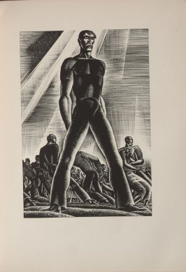Untitled, illustration 88, in the book Wild Pilgrimage by Lynd Kendall Ward (New York: Harrison Smith & Robert Haas, 1932)