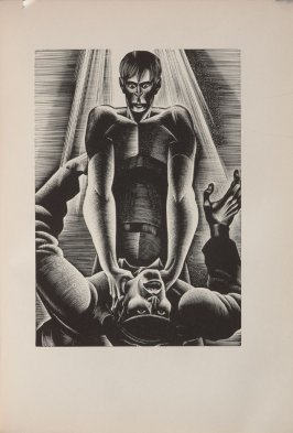 Untitled, illustration 92, in the book Wild Pilgrimage by Lynd Kendall Ward (New York: Harrison Smith & Robert Haas, 1932)