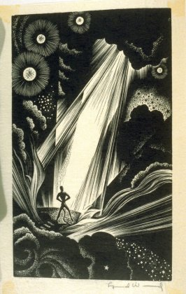 Untitled, frontispiece in the book Faust by Johann Wolfgang von Goethe, translated by Alice Raphael (New York: Jonathan Cape & Harrison Smith, [1930])