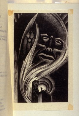Untitled, plate opposite page 24 in the book Faust by Johann Wolfgang von Goethe, translated by Alice Raphael (New York: Jonathan Cape & Harrison Smith, [1930])