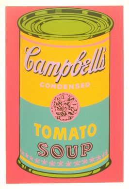 Campbell's Tomato Soup (from a banner)