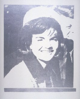 Jacqueline Kennedy I (Jackie I), pl. 2 from Eleven Pop Artists, Vol. I
