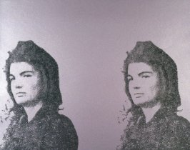 Jacqueline Kennedy II (Jackie II), pl. 5 from Eleven Pop Artists, Vol. II