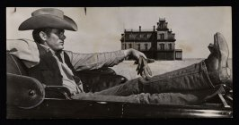 "James Dean Still Shot from Movie ""Giant"""