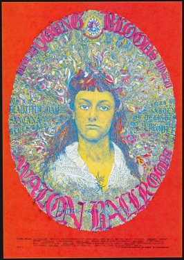 """Alice Jaundice,"" Youngbloods, It's A Beautiful Day, Dog, Santana, June 28 - 30, Avalon Ballroom"