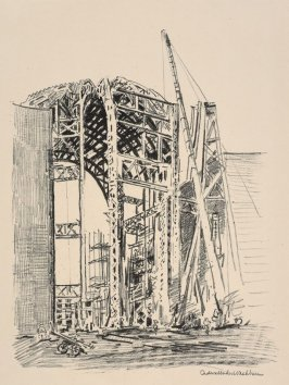 The Derrick, from the portfolio Building of the Panama-Pacific International Exposition