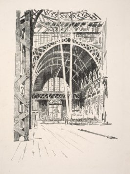 Exposition Palace Interior, from the portfolio Building of the Panama-Pacific International Exposition