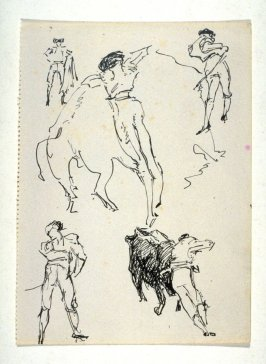 [Sketches of a bullfighter]