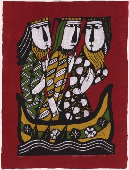 Three Wise Men Returning in a Boat