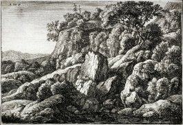 Le pays desert, couvert de cochers (The wilderness covered with rocks)
