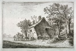 Arrival of the Travelers at the Inn