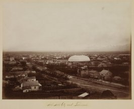 Salt Lake City and the Tabernacle, Utah