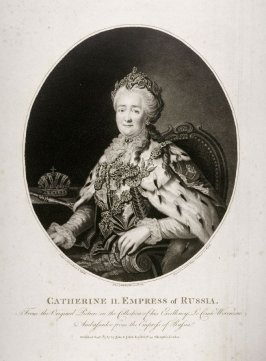 Portrait of the Empress of Russia, Catherina