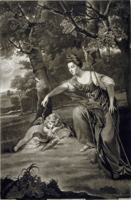 Elizabeth Bashwood, wife of the fourth Duke of Manchester and her son