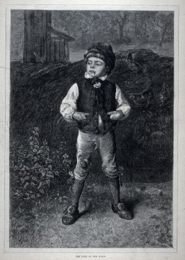 The Cock of the Walk - from Harper's Weekly, Supplement, (September 5, 1874), p. 745