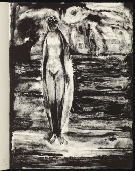 A Valediction: Forbidding Mourning, third rejected lithograph, eighteenth plate in the portfolio Songs and Sonnets by John Donne (Paris: 1959)