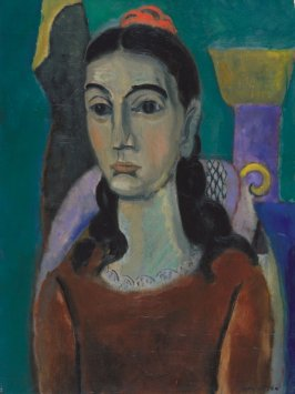 Girl with Comb