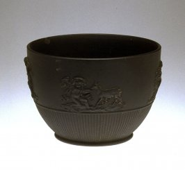 Bowl with cupids and lion