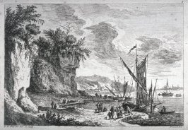 [Untitled: Boats in a bay]