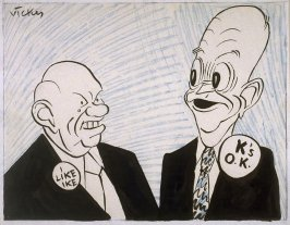 Krushchev and Eisenhower