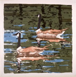 Untitled (Canadian Geese)