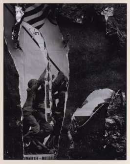 Untitled (Torn poster)