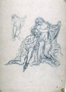 [Music and young love]- One from the Studies and Sketches for the Murals in the New Amsterdam Theatre, New York