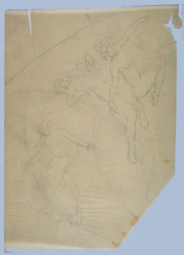 [Female nudes] - One from the Studies and Sketches for the Murals in the New Amsterdam Theatre, New York