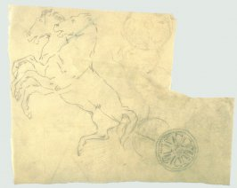[Chariot] - One from the Studies and Sketches for the Murals in the New Amsterdam Theatre, New York