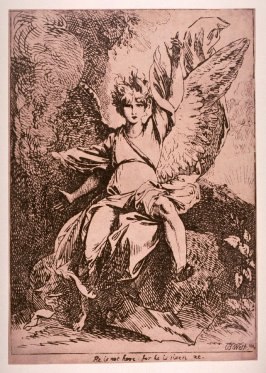 The Angel of the Resurrection, from Specimens of Polyautography, 1803