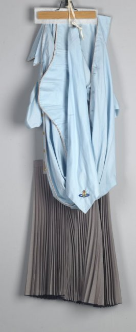 Woman's Day Ensemble (skirt, blouse, waspee, tie, scarf)