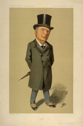 """Jonesy"" (Atherley Jones Esq., K.C., M.P.), Men of the Day No. 1315, from Vanity Fair Supplement"