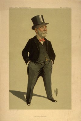 Lt. Col. Sir Robert William Inglis, Men of the Day No. 2306, from Vanity Fair Supplement