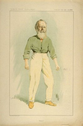 """Soccer"" (Lord Kinnaird), Men of the Day No. 2289, from Vanity Fair Supplement"
