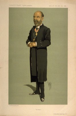 """the Dean"" (Rt. Rev. Herbert Edward Ryle, D.D.), Men of the Day No. 1314, from Vanity Fair Supplement"